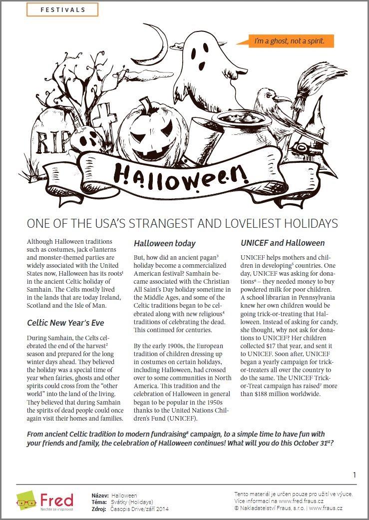 Pripravte Se S Fredem Na Blizici Se Halloween Fred